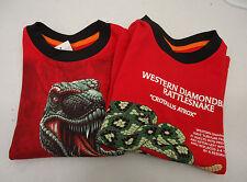 Two Boy's Sweet Potatoes SPUDZ T Shirts T Rex & Snake Size 4