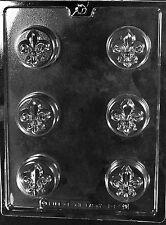 FLEUR DE LIS COOKIE mold Chocolate Candy Soap molds party favors nfl saints