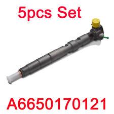 Delphi CRDI Fuel Diesel Injector A6650170121 5pcs for Ssangyong Rexton EURO 3