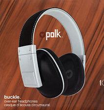 Polk Buckle Over Ear Audiophile Heritage Collection Headphones