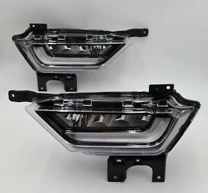 NEW 2021 Ford F-150 LED OEM Fog Lights Lamps Pair Right Left DRL F150 Takeoff