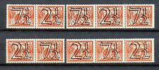Nederland  356 a - d postfris