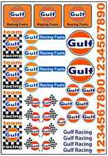 1/64, 1/87 - DECALS FOR HOT WHEELS, MATCHBOX, SLOT CAR: FAMOUS RACE BRAND II