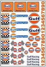 1/64, 1/87 - DECALS FOR HOT WHEELS, MATCHBOX, SLOT CAR: FAMOUS RACE BRAND II