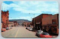 Durango Colorado~Main Avenue~Dodge Plymouth Dealer~GM Parts~Texaco~1950s Cars