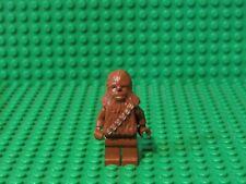 Lego Chewbacca minifigure Reddish Brown Star Wars MiniFigure 8038 figure Ch2 Auc