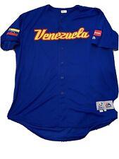 MLB Authenticated - Yangervis Solarte World Baseball Classic Venezuela BP Jersey
