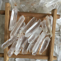 200g Lot Tibet Natural Clear Quartz Crystal Points Wand Specimens