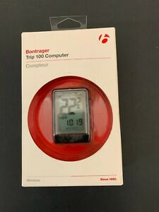 NEW Open Box BONTRAGER Trip 100  Computer Speed Max Avg. Odometer Clock Timer