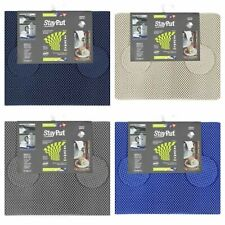 Stay Put Non Slip Place Mats & Coasters Caravans, Motorhomes Boats Glass Tables