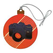 Camera Photography Photographer Wood Christmas Tree Holiday Ornament