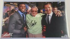 Stan Lee Signed Autograph 11x17 Dr. Strange Movie Premiere Photo Print Boseman
