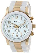 XOXO Women's XO5642 Gold and White Bracelet Analog Watch