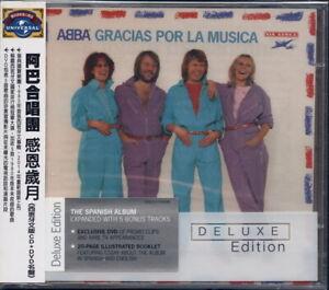 ABBA - Gracias Por La Musica - Deluxe Edition (Taiwan 2003) CD/DVD