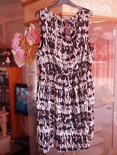 BNWT Inspire from New Look size 24 dress, sleeveless, black/white design