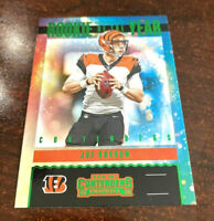 """2020 Panini Contenders Joe Burrow Rookie Of The Year SP GREEN PARALLEL RC 'RARE"""""""