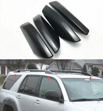 Black Roof Rail Rack Cap For Toyota 4Runner N210 Hilux Surf 2003-09 Shell Cover
