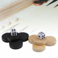 32Pcs Draughts & Checkers & Backgammon Chess Piece for Kids Board Game Learning