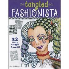 Adult Colouring Book - Tangled Fashionista - Design Originals