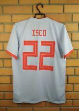 217068104 10 10 Isco Spain soccer jersey MEDIUM 2018 away shirt BR2697 soccer Adidas