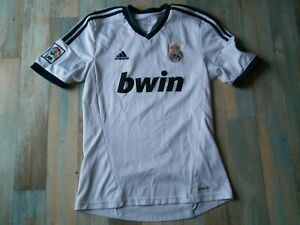 MAILLOT FOOT ADIDAS REAL MADRID LFP BWIN TAILLE M/D5 BE