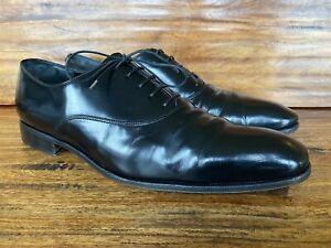 Mens Salvatore Ferragamo Lace Up Dress Shoes Size 11 D