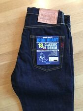 Iron Heart 666s Selvedge Japanese Jeans New With Tags 32 X 36