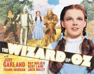 "Wizard of OZ Yellow Brick Road Tin Sign 12.5"" W x 16"" H - Desperate Enterprise"