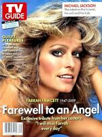 TV Guide 2009 Charlie's Angels Farrah Fawcett July 13th Tribute Michael Jackson