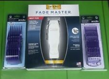 Andis Fade Master Clipper w/ 9pc Nano  Double Magnetic Combs Guides Set