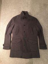 WOOLRICH Parka manteau, taille L, laine, marron