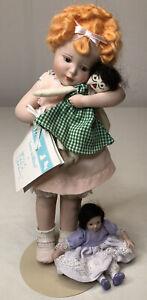 "1985 Hamilton Bessie Pease ""Love Is Blind"" Porcelain Doll"