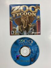 Zoo Tycoon Microsoft Game Studios PC with Sleeve Cover