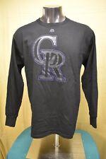 Majestic Mens MLB Colorado Rockies Baseball Shirt NWT $28 L