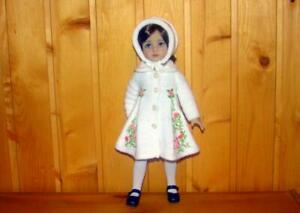 """Knitted outfit with Embroidery for  doll Dianna EFFNER LITTLE DARLING 13"""""""