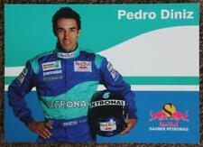 Pedro Diniz (Sauber Petronas) colour postcard. Formula 1
