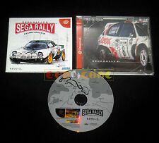 SEGA RALLY 2 Dreamcast Dc Versione NTSC Giapponese ••••• COMPLETO