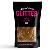 Dark Gold Premium Glitter Multi Purpose Dust Powder 100g / 3.5oz Cosmetic Face