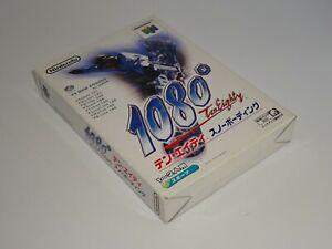 NINTENDO N64 - 1080 Ten Eighty Snowboarding - JAPAN