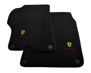 Floor Mats For Ferrari California Convertible 2008-2014 Black Tailored Carpets