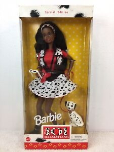 Disney Barbie Doll 101 Dalmatians 1997 #17601 Special edition Box Sealed Mattel