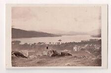 Vintage CDV Lake Windermere Windermere, Cumbria England