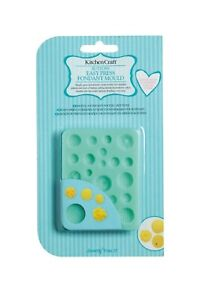 Kitchen Craft Sweetly Does It BUTTONS Easy Press Fondant Mould SDIFM06