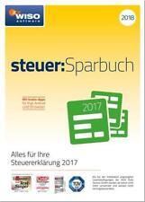 WISO steuer-Sparbuch 2018 auf CD-ROM, (inkl. Steuerratgeber als .PDF-Datei)