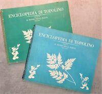 Album Enciclopedia di Topolino - Il Mondo delle Piante 1961/62 Vol. III completo