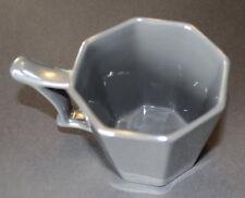 Starbucks Silver Gray Octagon Reflective Mirror Cup 2013 14oz Mug EUC
