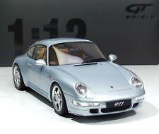 NEW 1:12 Porsche 911 (993) Carrera 4S Baujahr 1993 polar- silber GT190 GT Spirit