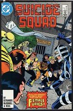 Suicide Squad 3 NM Deadshot 1987 DC Comics 1st Series Female Furies Unread White