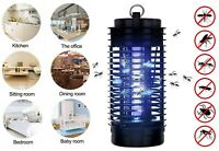 3W Electric Blue Light Pest UV Fly Bug Zapper Mosquito Insect Killer Trap Lamp