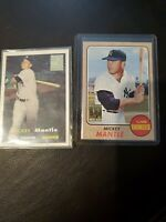 1996 topps mickey mantle commemorative set card